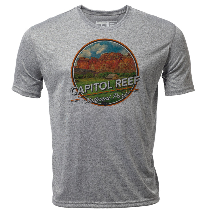 Capitol Reef + Mens SS Hybrid T