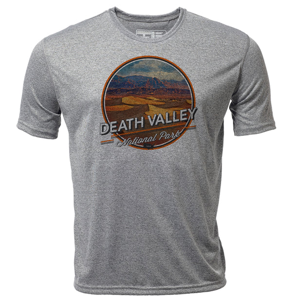 Death Valley + Mens SS Hybrid T