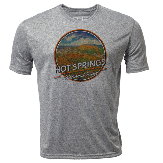 Hot Springs + Mens SS Hybrid T