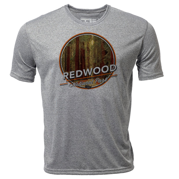 Redwood + Mens SS Hybrid T