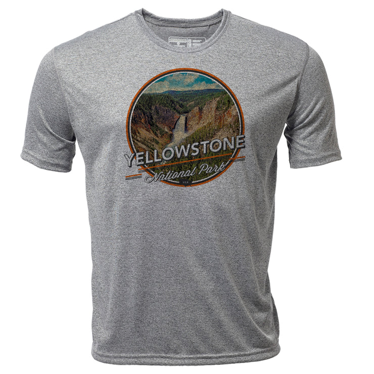 Yellowstone + Mens SS Hybrid T
