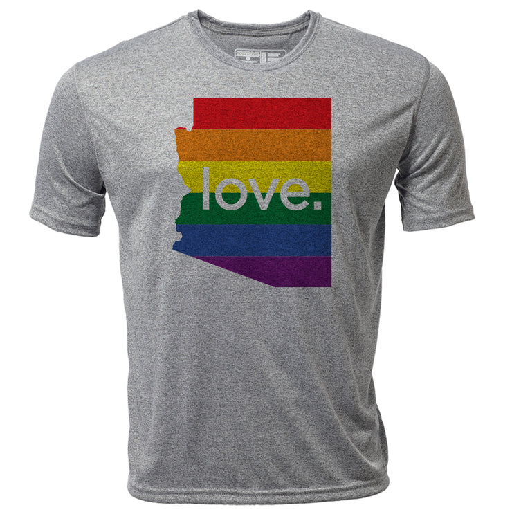 love. Arizona + Mens SS Hybrid T