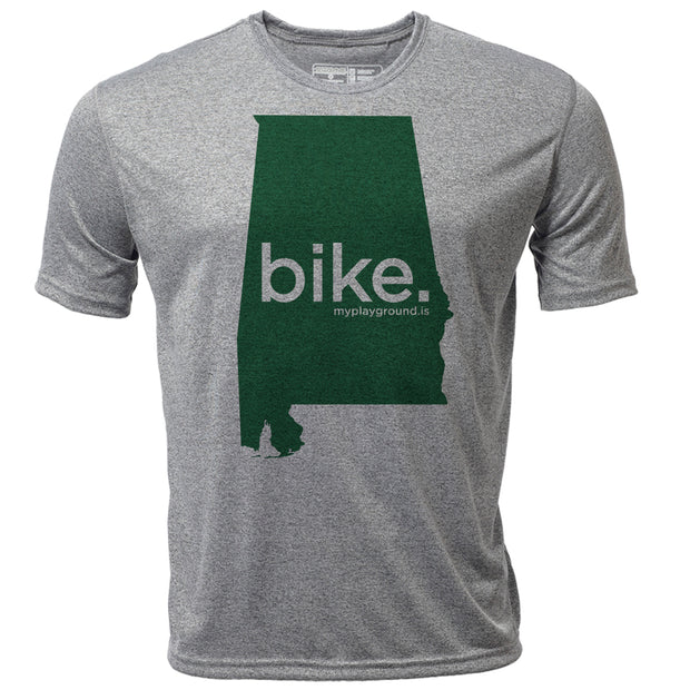 bike. Alabama + Mens SS Hybrid T