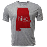 hike. Alabama + Mens SS Hybrid T