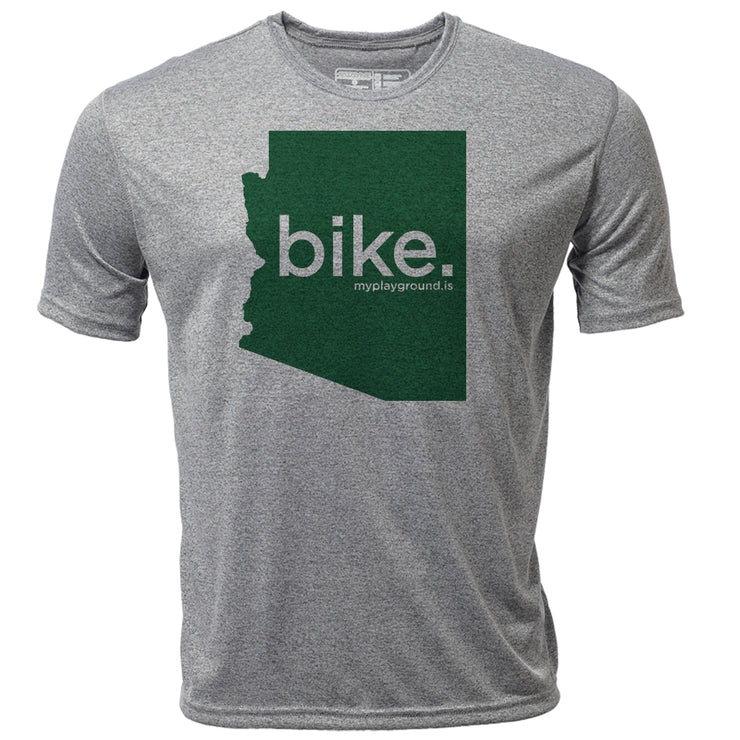 bike. Arizona + Mens SS Hybrid T