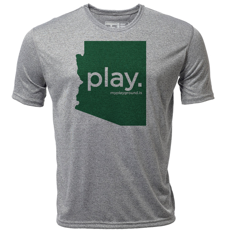play. Arizona + Mens SS Hybrid T