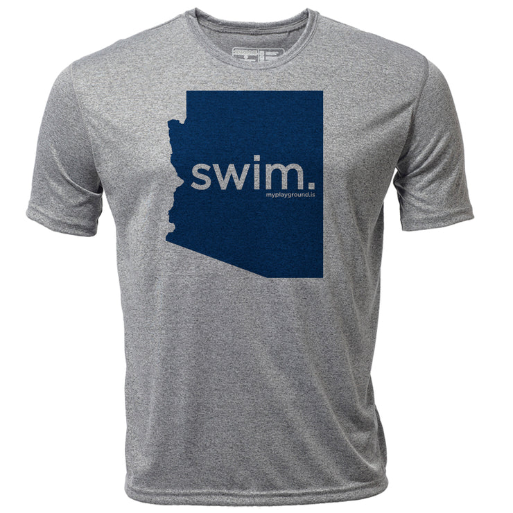 swim. Arizona + Mens SS Hybrid T