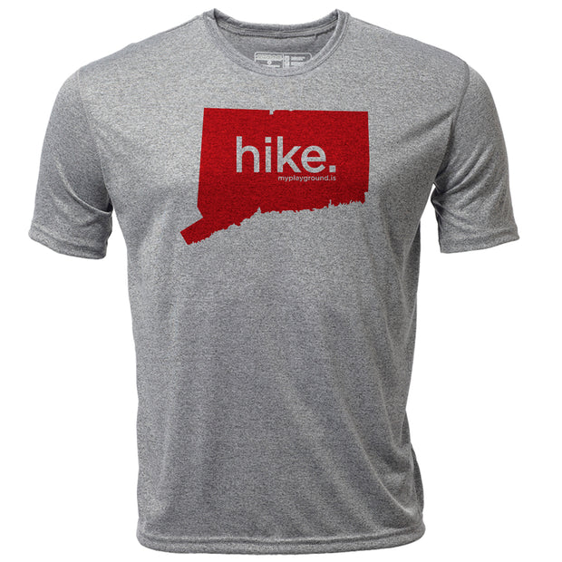 hike. Connecticut + Mens SS Hybrid T