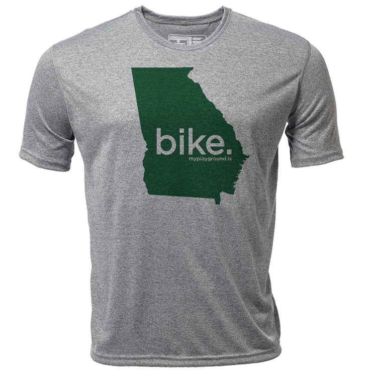 bike. Georgia + Mens SS Hybrid T