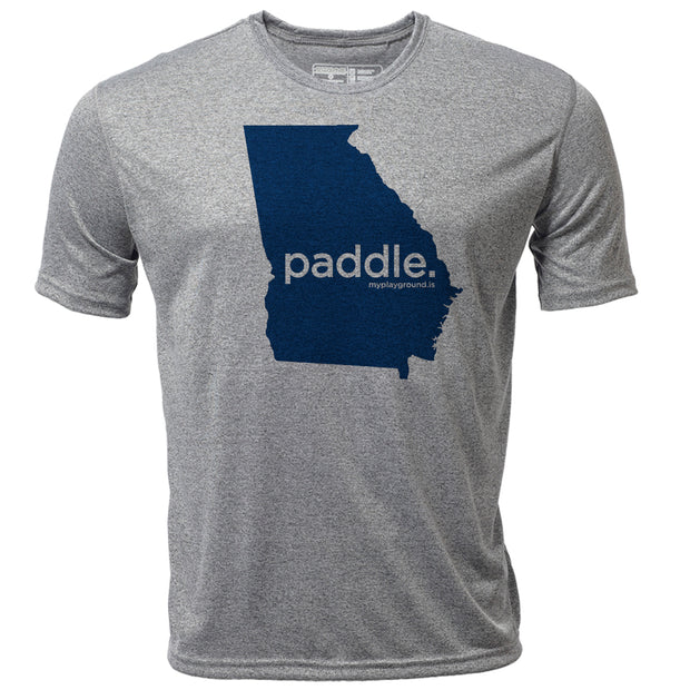 paddle. Georgia + Mens SS Hybrid T