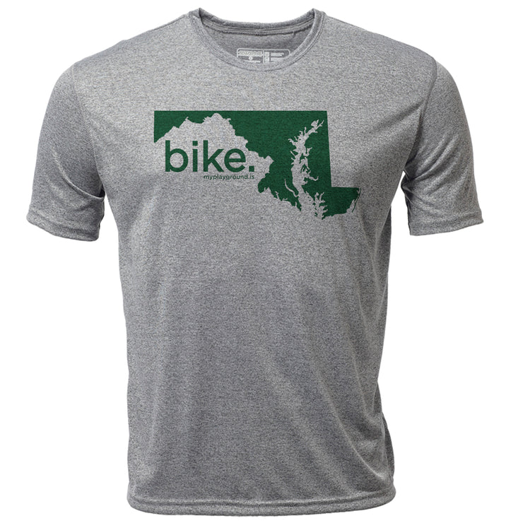 bike. Maryland + Mens SS Hybrid T