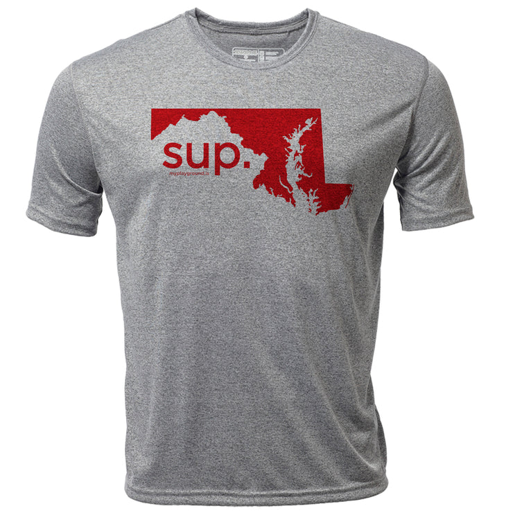 SUP. Maryland + Mens SS Hybrid T
