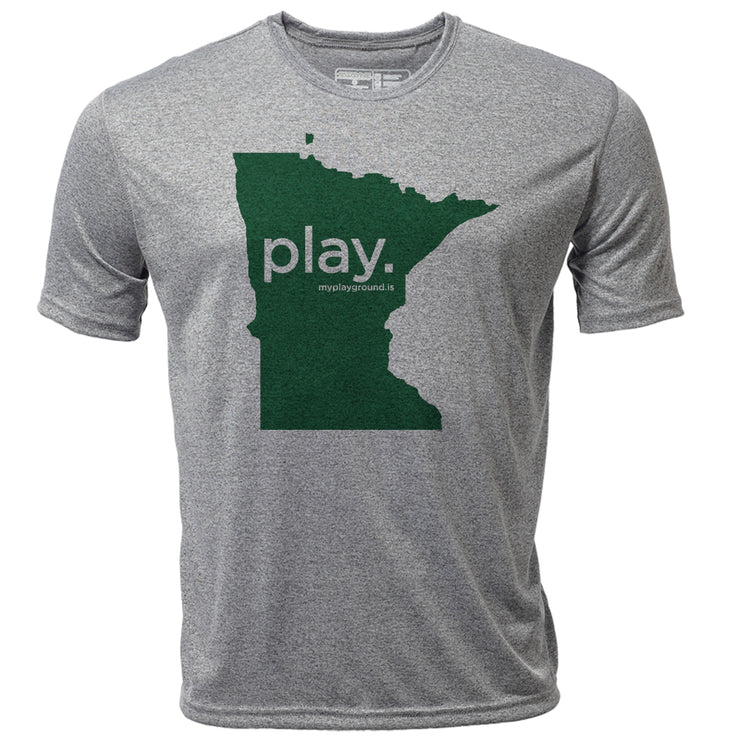 play. Minnesota + Mens SS Hybrid T