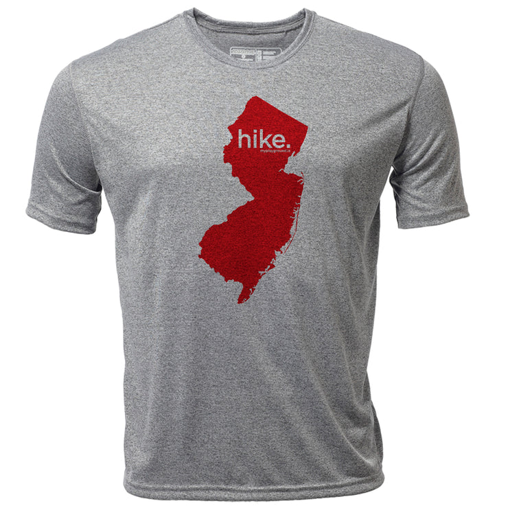 hike. New Jersey + Mens SS Hybrid T