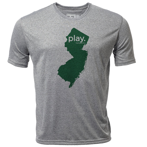 play. New Jersey + Mens SS Hybrid T