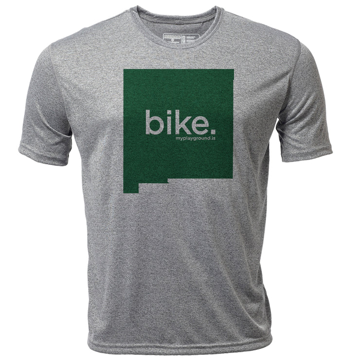 bike. New Mexico + Mens SS Hybrid T