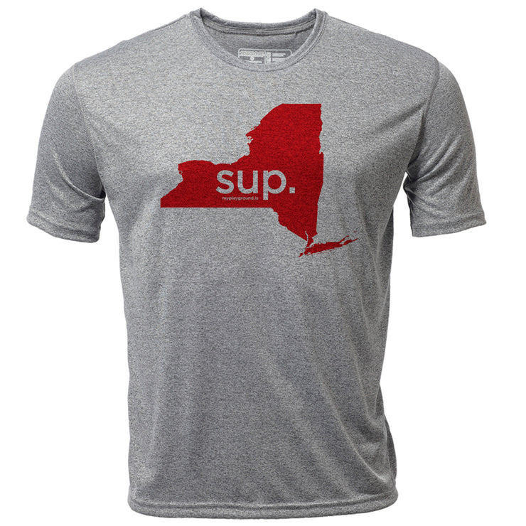 SUP. New York + Mens SS Hybrid T