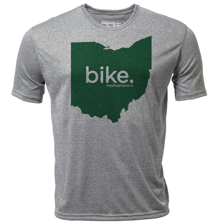 bike. Ohio + Mens SS Hybrid T
