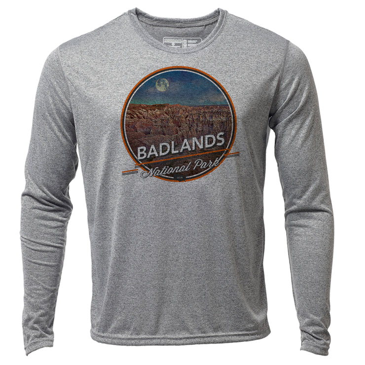 Badlands + Mens LS Hybrid T
