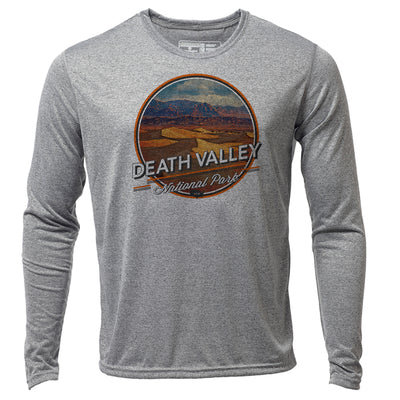 Death Valley + Mens LS Hybrid T