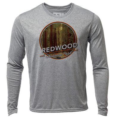 Redwood + Mens LS Hybrid T