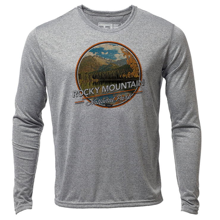 Rocky Mountain + Mens LS Hybrid T