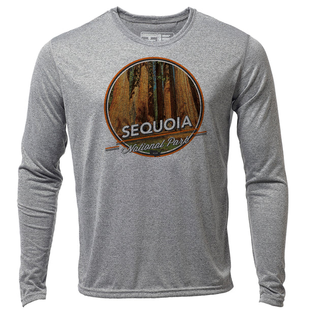 Sequoia + Mens LS Hybrid T