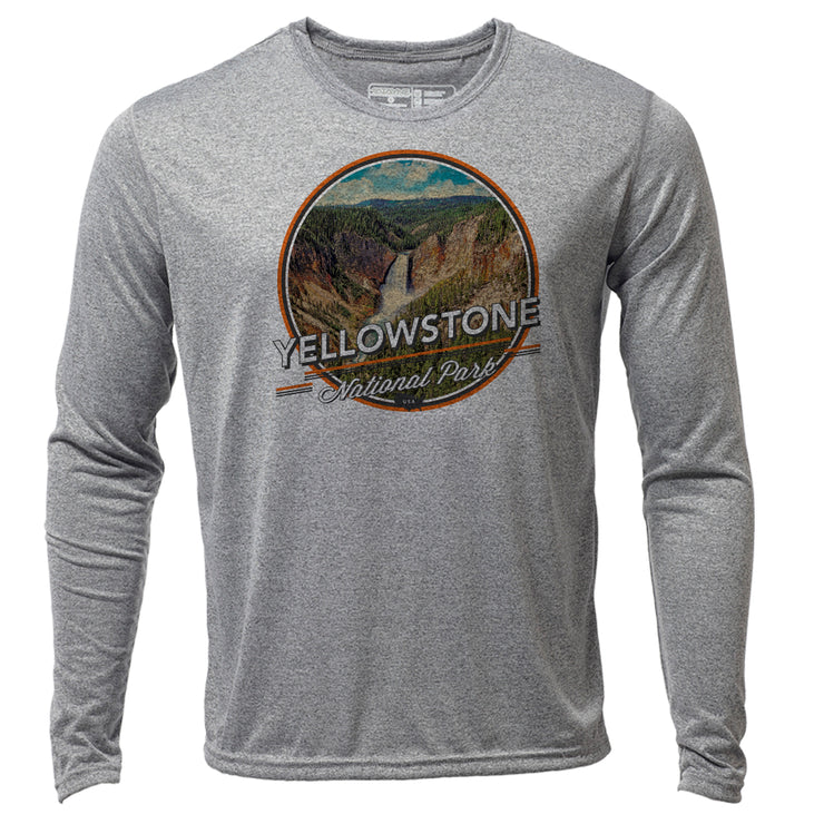 Yellowstone + Mens LS Hybrid T