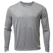 Mens LS Trash T Heather Gray