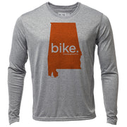 bike. Alabama + Mens LS Hybrid T