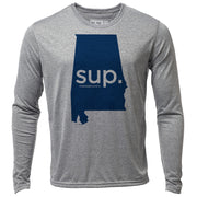 SUP. Alabama + Mens LS Hybrid T