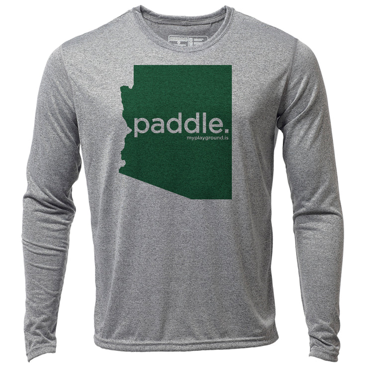 paddle. Arizona + Mens LS Hybrid T