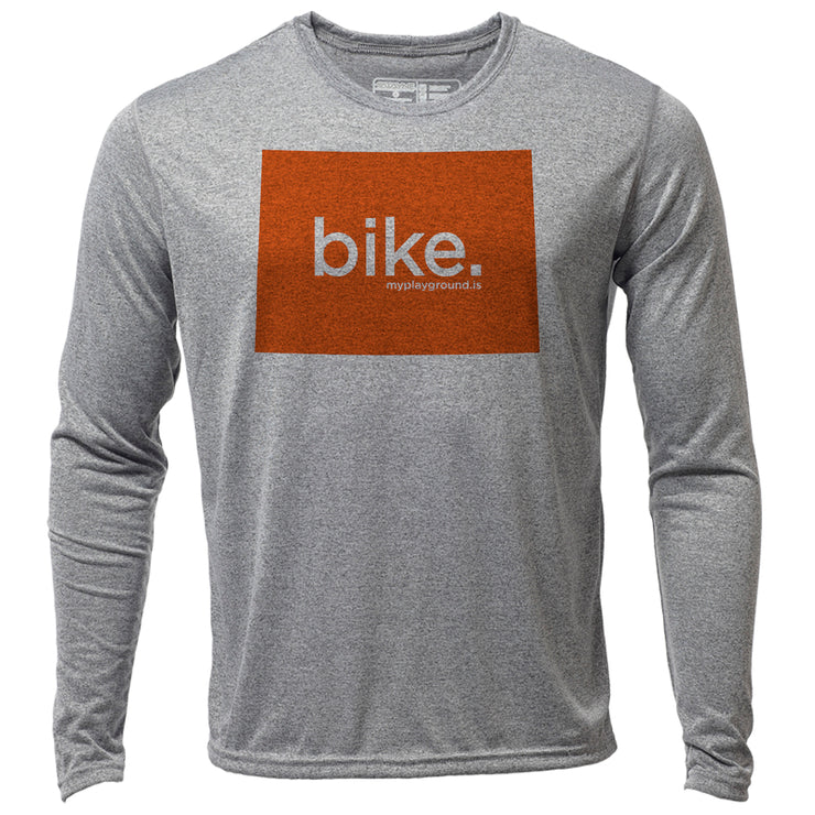 bike. Colorado + Mens LS Hybrid T