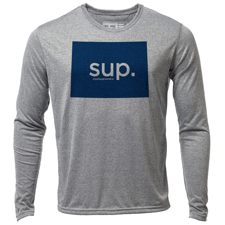SUP. Colorado + Mens LS Hybrid T