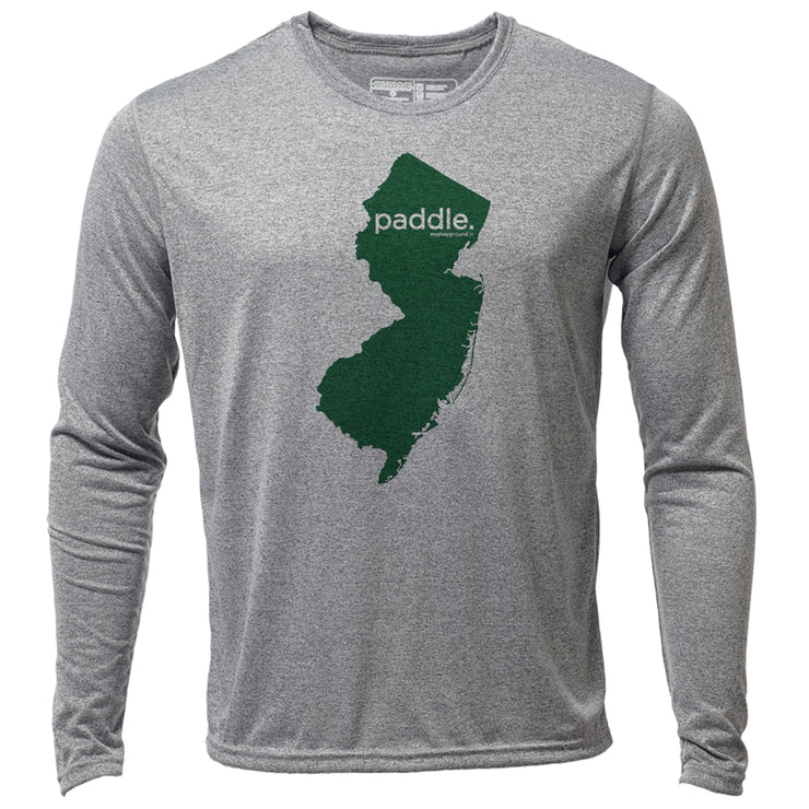 paddle. New Jersey + Mens LS Hybrid T