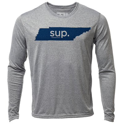 SUP. Tennessee + Mens LS Hybrid T