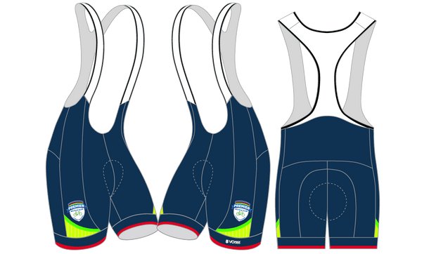 CLUB CUT Premier Bicycle Club Cycling Bibs