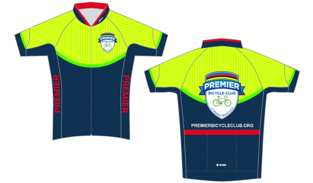 PRO-CUT Premier Bicycle Club Short Sleeve Pro 2019 Cycling Jersey