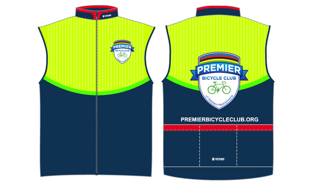 CLUB CUT Premier Bicycle Club Windbuster Vest