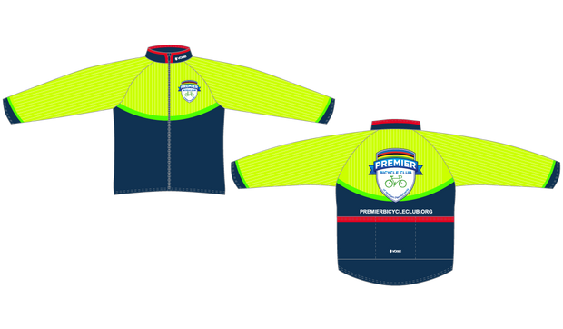 CLUB CUT Premier Bicycle Club Aero Windbreaker