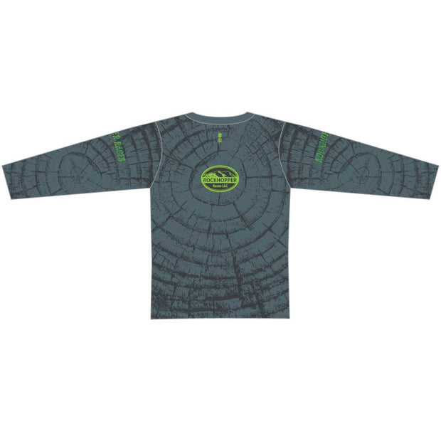 Ringer Long Sleeve Tech Running Tee