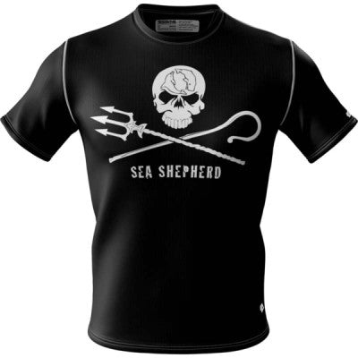 Sea Shepherd + Mens Short Sleeve REC T Elite