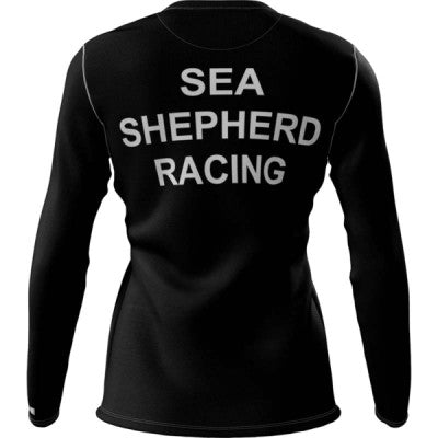 Sea Shepherd + Womens Long Sleeve REC T Elite