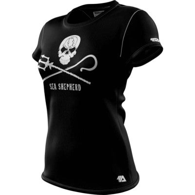 Sea Shepherd + Womens Short Sleeve REC T Elite