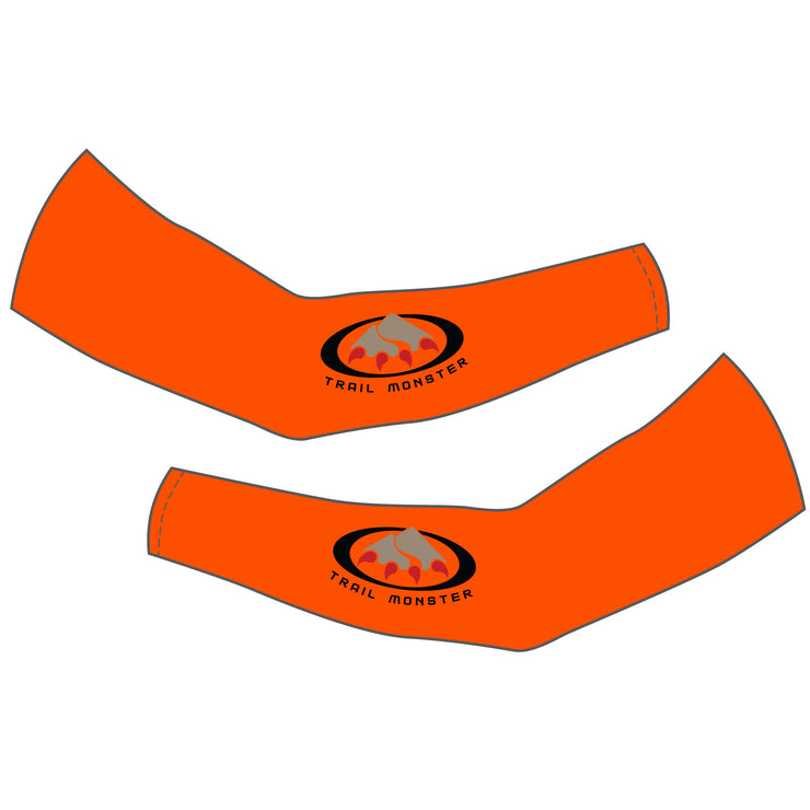 Trail Monster Arm Warmers - Blaze Orange