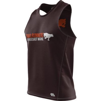 Trail Runners of Midcoast Men + Mens Grind Singlet