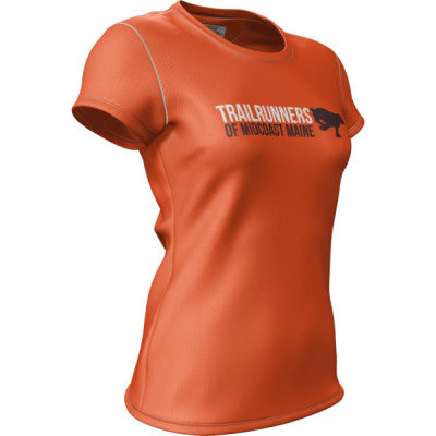 Trail Runners of Midcoast Maine + Womens Short Sleeve REC T Elite