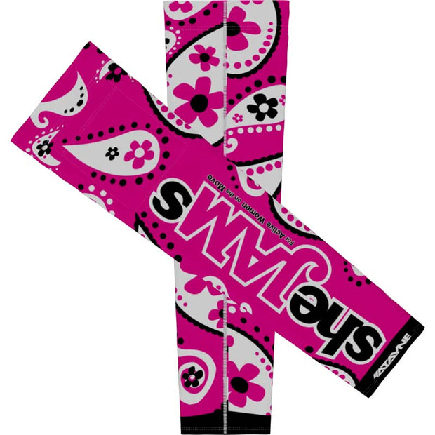 SheJAMs + Womens Arm Sleeves