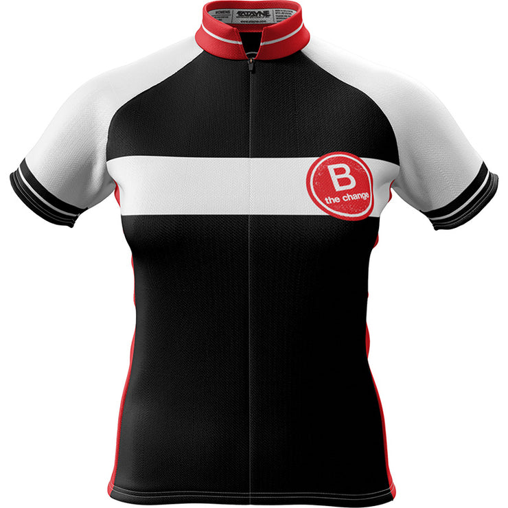 B the Change Womens Short Sleeve REC Cycling Jersey