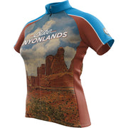 Canyonlands National Park + Womens Short Sleeve REC Cycling Jersey
